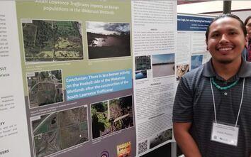 HERS student, Kaleb Proctor, studies impact of highway construction on wetlands