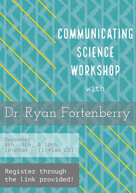 EPSCoR Communicating Science FREE virtual workshop for students