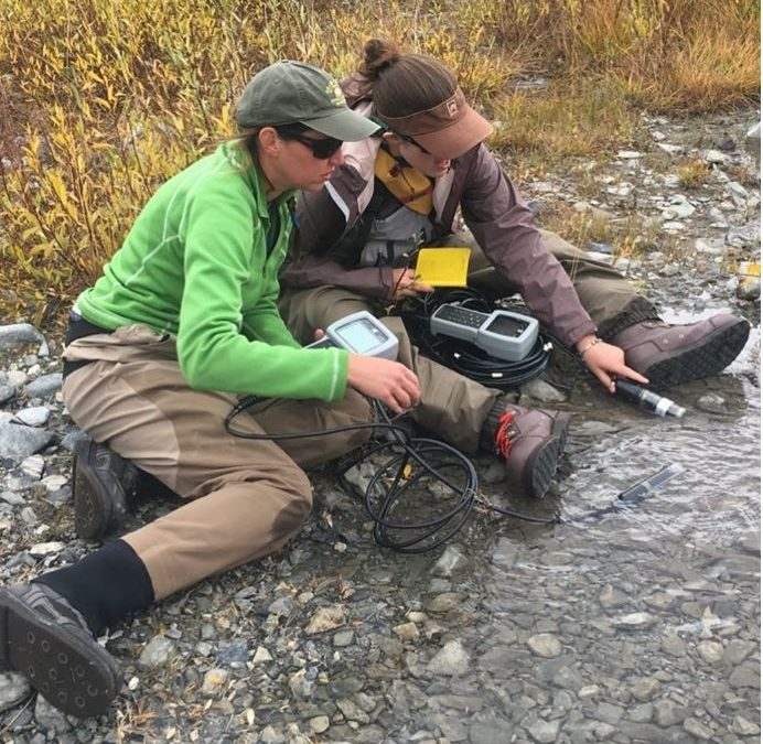 MAPS and MACRO KSU Ph.D. student, Anne Schechner, conducts aquatic research spanning Kansas to Mongolia